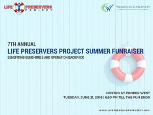 7th Annual Life Preservers Summer Funraiser Women in eDiscovery