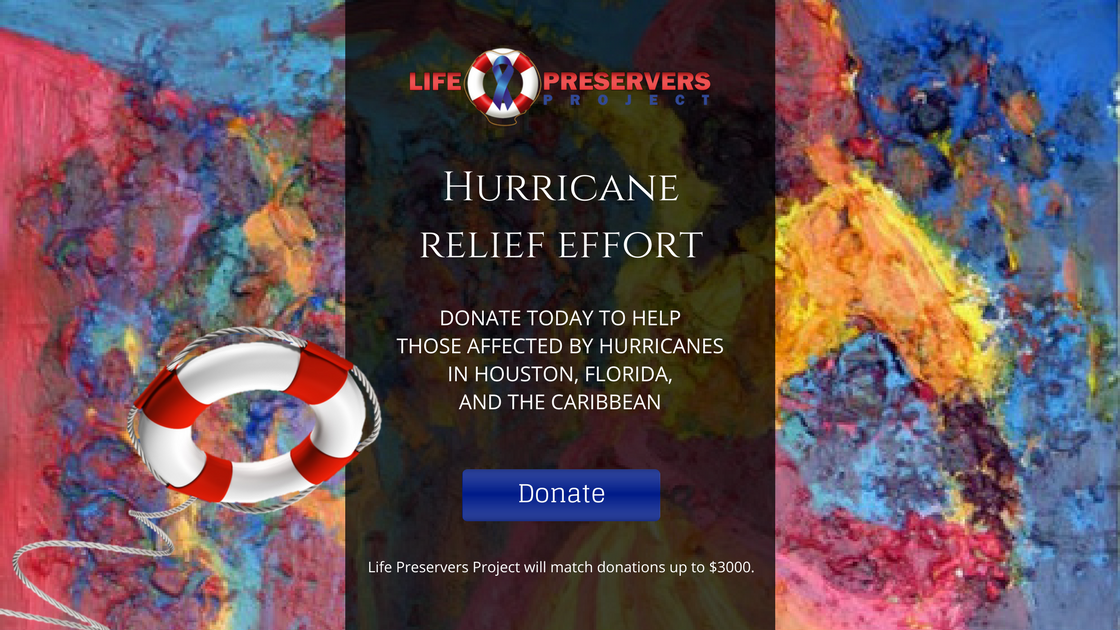 Life Preservers Project Hurricane Relief Effort