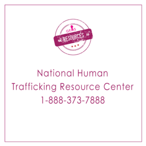 Life Preservers Project National Human Trafficking Hotline