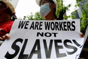 work not slavery