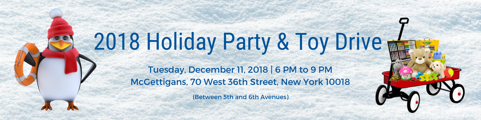 2018 Holiday Party and Toy Drive