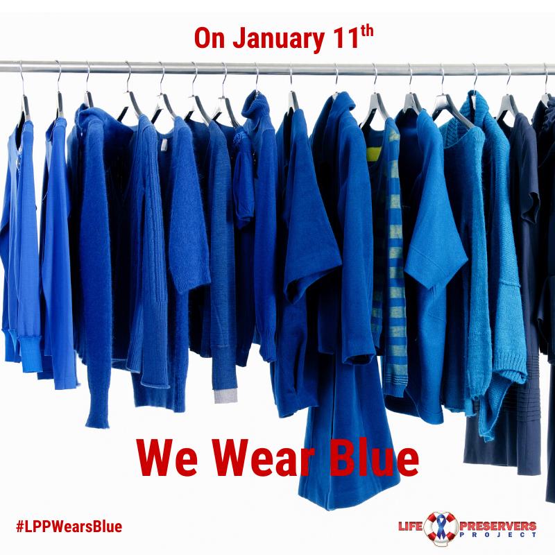 #LPPWearsBlue